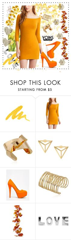 """""""YOINS #18"""" by nizaba-haskic ❤ liked on Polyvore featuring Urban Decay, Anne Michelle and yoins"""
