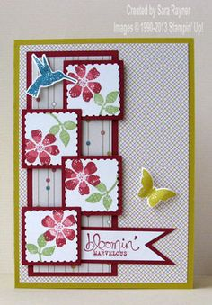 Bloomin' marvelous birthday card - Stampin' Up! ~ http://craftingandstamping.com/2013/01/17/saleabration5daystogo/