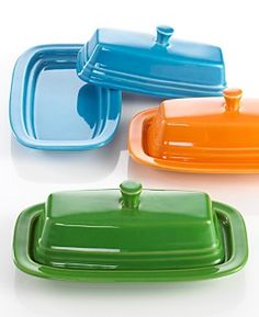 Fiesta® Covered Butter Dish