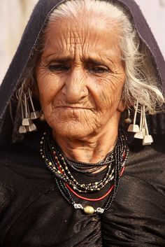 proud gypsy grandmother