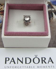 Genuine Sterling Silver Triangle Moonstone Charm. Product ID: 790217MS. RARE & RETIRED. | eBay! Moonstone, Pandora Charms, Triangle, Charmed, Sterling Silver, Ebay