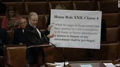House GOP changed rules before shutdown to prevent Senate bill from easily returning to House floor ~ Kudos to Chris Van Hollen for pointing this out. Apparently, the GOP thinks it can change the rules midstream to its own favor and not get caught. Too bad, they've been caught.