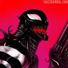 Agent Venom by theCHAMBA.deviantart.com on @DeviantArt