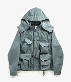 nepenthes online store | SOUTH2 WEST8 Tenkara Parka - Nylon Tussore
