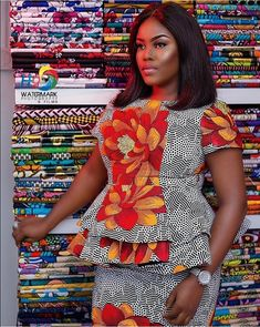 Ankara skirt and blouse - Native Skirt And Blouse creative Ankara Skirt And Blouse Styles 2019 for slay Queens Correct Kid African Attire, African Wear, African Women, African Dress, African Beauty, African Fashion Ankara, Latest African Fashion Dresses, African Print Fashion, Ankara Skirt And Blouse