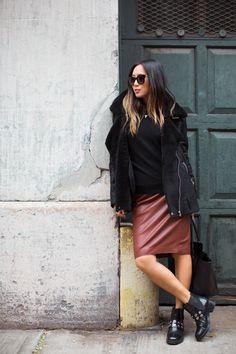 Bag: http://rstyle.me/n/tuic4bgzq7 , Jacket: http://rstyle.me/n/tuidcbgzq7 ,  Skirt: http://rstyle.me/n/tuidqbgzq7 , Shoes: (similar) http://rstyle.me/n/tuid8bgzq7 ,  www.songofstyle.com