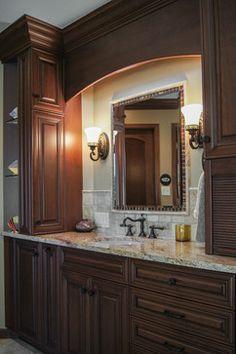 Bathroom Remodel Highlands Ranch highlands ranch modern master bathroom remodel -da vinci