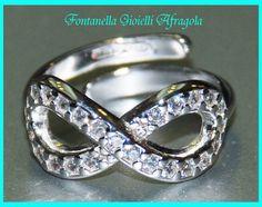 anello infinito argento