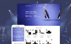 4+ Awesome Audio Gear and Musical Instrument Ecommerce Templates (Music Audio Gear Shopify Themes) - Audio Gear Store