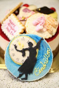 バレリーナのケーキ: Ballet dancer's cake