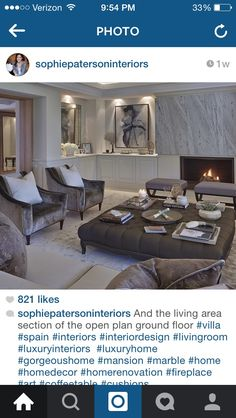 Luxury Interior, Interior Styling, Interior Design, Outdoor Furniture Sets, Outdoor Decor, Open Plan, Living Area, Living Rooms, Home Renovation
