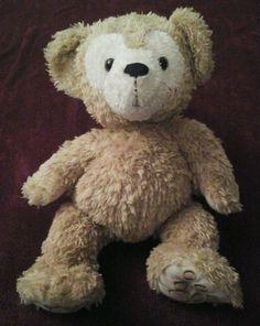 Hidden Mickey Pre Duffy Disney Bear Beige 17  Plush   #Disney