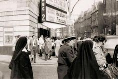 The premier of SWALLOWS & AMAZONS (1974) - Sister Allyne at the ABC in Shaftsbury Avenue, London