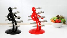 Groupolitan : Support à Couteaux Vaudou Support, Toothbrush Holder, Decorating Your Home, Sweet Home, Knives, Kitchens, House Beautiful, Toothbrush Holders