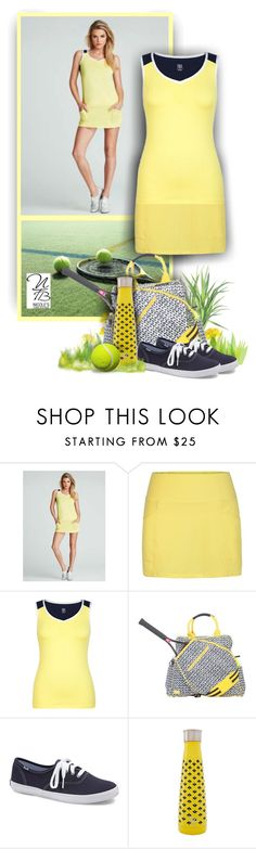 """Summer Sunshine Tennis - Nicole's Tennis Boutique"" by nicolestennisboutique ❤ liked on Polyvore featuring Regatta, AME and Forever 21"