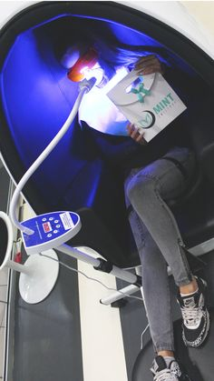 Faster than strips. More affordable than the dentist! Enjoy a relaxing in-office teeth whitening session at Mint Smilebar. You can get your teeth up to 6 shades lighter within one hour with zero to minimal sensitivity. Teeth Whitening Methods, Home Teeth Whitening Kit, Light Shades, Sensitivity, Lighter, Zero, Minimal, Cruelty Free, Gluten Free