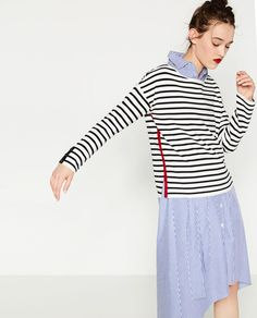 STRIPED SWEATER-Sweaters-KNITWEAR-WOMAN | ZARA Germany