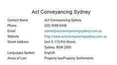 Act Conveyancing Sydney means to turn the procedure regarding buy/sell uncomplicated, quick and dependable. Conveyancing entails some sort of field of assorted functions by itself, similar to seal of approval obligation, queries, terrain and property or home details etc.