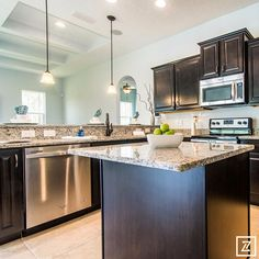 Volusia Building Industry Association Parade of Homes - America's Home Place Kitchen.jpg