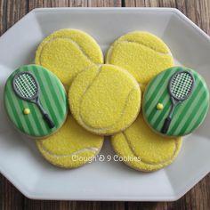 Tennis anyone? #decoratedcookies #customcookies #tennis