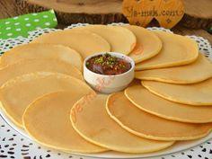 Pankek Tarifi Yapılış Aşaması 10/12 Cantaloupe, Pancakes, Cheese, Breakfast, Easy, Waffles, Finger Food, Morning Coffee, Pancake