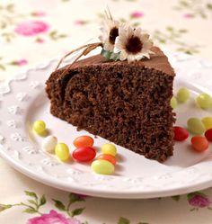 Photo de la recette : Gâteau au yaourt au chocolat