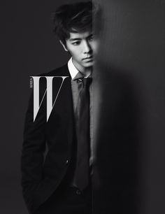 Super Junior's Lee Dong Hae W Magazine November 2010