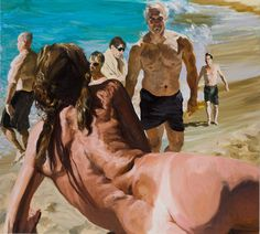 Scenes from Late Paradise — Eric Fischl Anatomy For Artists, Portraits, Arte Pop, Life Drawing, Figure Painting, Contemporary Paintings, Figurative Art, Strand, Art History