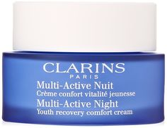CLARINS Multi-Active Night Youth Recovery Comfort Cream, 1.7 Ounce * Check out the image by visiting the link. (This is an affiliate link and I receive a commission for the sales)