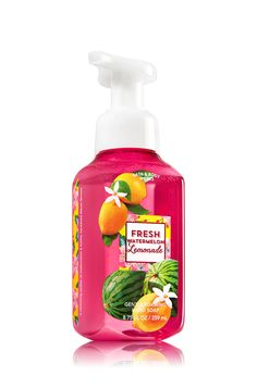 Keep hands clean & lightly scented with Bath & Body Works foaming hand soap. Stock every sink with this luxurious lather to gently wash away dirt and germs! Bath N Body Works, Bath And Body, Best Home Fragrance, Lip Scrub Homemade, Watermelon Lemonade, Lush Bath Bombs, Homemade Cosmetics, Body Care, Face Care