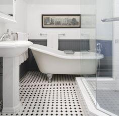Edwardian Bathroom | Princess St. Heritage House | Falken Reynolds Interiors