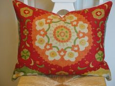 Decorative Pillow Cover 20 x 16 INCH  by TurquoiseTumbleweed