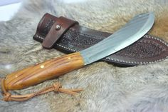 Bushcraft, Old Hickory Knives, Butcher Knife, Wood Knife, Sharp Objects, Fixed Blade Knife, Mountain Man, Knife Making, Patience