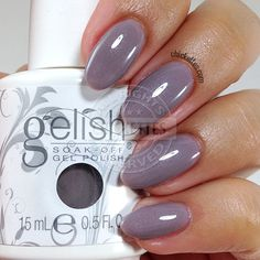 Gelish – Chickettes: Soak-Off Gel Polish Swatches, Nail Art and Tutorials Gelish Nail Colours, Shellac Nails, Nail Polish Colors, Gel Nail Polish, Nail Polishes, Manicures, Gorgeous Nails, Pretty Nails, Nail Harmony