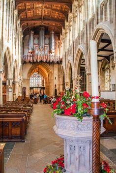 C A B Stratford Upon Avon Church of The Holy Trinity in Stratford upon Avon, Warwickshire ...