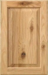 Our meridian door style in plainsawn white oak with our new stain ...