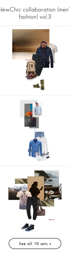 """""""NewChic collaboration (men's fashion) vol.3"""" by dear-inge ❤ liked on Polyvore featuring TravelSmith, men's fashion, menswear, NOVICA, Forever 21, Lands' End, Balmain, Scotch & Soda, French Toast and DKNY"""