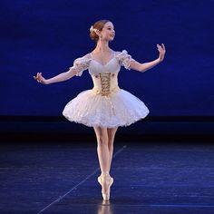 Maddie Gardella as Swanilda dancing a variation from Coppelia Act III. Maddie's stunning tutu was made by Jan Kurdin.