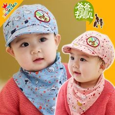 Women's Accessories Women's Scarf Sets 100% True Cotton Baby Hat Scarf Set Ice Cream Love Print Cotton Cap Child Hats Newborn Hat Children Scarf Collar Kids Cap Set For Girl Boy Refreshing And Beneficial To The Eyes