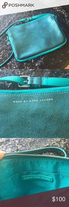 Marc by Marc Jacobs Crossbody Metallic Teal bag Marc by Marc Jacobs Bags Crossbody Bags