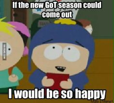 6e4a9c8c6221e35d471875c7957da69f abs game of south park got humour game of thrones pinterest south park