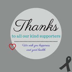 Thank you for supporting our foundation. #BrainTumorThursday #BrainCancer