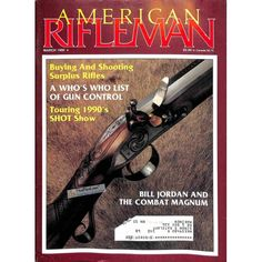 American Rifleman, March 1990 | $8.36