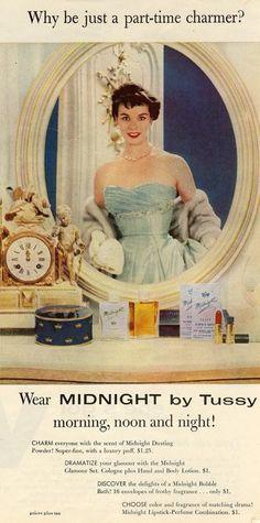 1950's Makeup Ads