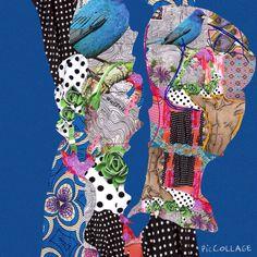 #maha_masoud #ipad #collage #cutout #mixmedia #jeddah #2015