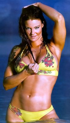 Former WWE Diva Lita (Amy Dumas) I so miss Lita I wish she would come back to the wwe , because she was one my most fav Divas , so fast and a great entertainer , love love love me some Lita