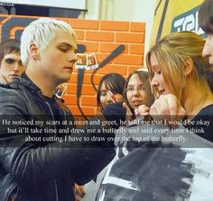 Gerard Way can be seriously underrated at times...