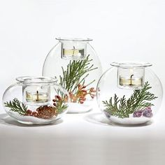 Clearly Creative™ Eclectic Votive Trio, these are some of my favorite pcs, you can so so much DIY