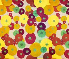 Tomato Varieties fabric by owlandchickadee on Spoonflower - custom fabric