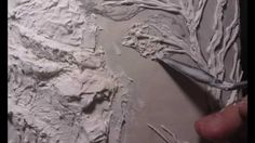 """Барельеф этапы создания.рельефное панно.3D панно """"Окраина Эриадора"""""""